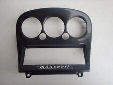 Maserati 4200 GranSport M138 Carbon Air Con Stereo Surround Trim 68325400 J088
