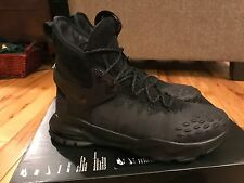NIke NikeLab Zoom Tallac Flyknit ACG Black Grey Boots 865947 001 Size 9.5