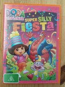 Dora The Explorer Super Silly Fiesta DVD