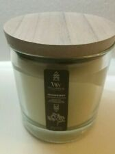 NWT Woodwick Snowberrry Medium Candle 10.5oz, 297 g. Great gift! Sold Out Online