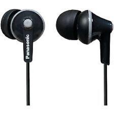 Panasonic RP-HJE125-K Ergofit Headphones Stereo In Ear Bud RPHJE125 Black