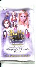 Buffy TVS Women Of Sunnydale Factory Sealed Hobby Packet / Pack