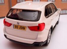 PERSONALISED PLATES BMW X5 Model Toy Car boy girl dad BIRTHDAY gift NEW & BOXED