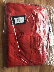 Burton Dugout Jacket Snowboard Ski Boys L Flame Scarlet Red
