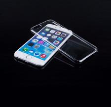 5 X IPHONE dura delgada de tapa dura de cristal claro X Carcasa protectora de plástico