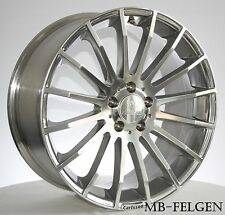 Carlsson 1/16RS Platinum in 8,5x18 Mercedes E-KLasse W212 W212K