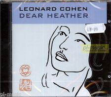 = LEONARD COHEN - DEAR HEATHER  /CD sealed from Poland/ polish stickers