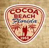 """Cocoa Beach Florida Sticker Decal Vinyl 3"""" Surfing Surfer Surf"""