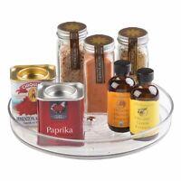InterDesign Linus Lazy Susan Cabinet Turntable - Organizer Tray for Kitchen P...