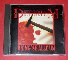 Delirium - Bring' se alle um -- CD / Punk