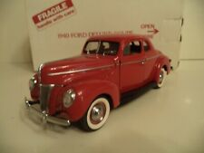 DANBURY MINT FORD DELUXE COUPE  1940     IN  BOX.