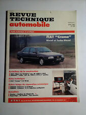 RTA FIAT CROMA diesel et turbo diesel revue technique