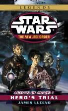 STAR WARS Agents of Chaos HERO'S TRIAL James Luceno FREE SHIPPING paperback Jedi