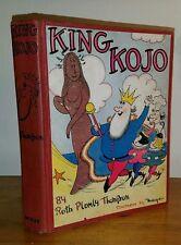 King Kojo. Ruth Plumly Thompson. McKay, 1938. 1st edition.