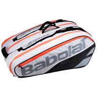 BABOLAT PURE STRIKE WHITE 12 RACKET TENNIS BAG 2017