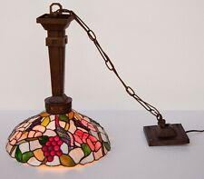 Tiffany Style Ceiling Light Pendant Lamp Stained Glass Shade Chandelier Fixture