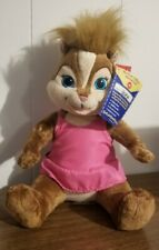 Build a Bear Alvin & The Chipmunks Chipettes BRITTANY With Tags 2011 Fox Movie
