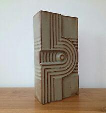 Steuler Cari zalloni? PAN Keramik? Alemán Vintage 60s70s geométrica Florero De Arte Pop Op