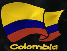 Colombian Pride Colombia National Flag Car Decal Sticker