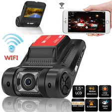 170° WiFi 1080P Hidden Car DVR Camera Video Recorder Dash Cam Night Vision G-Sen