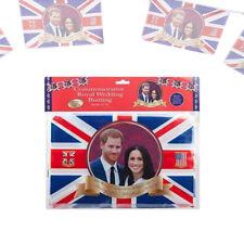 20ft Prince Harry & Meghan Markle Royal Wedding Commemorative Union Jack Bunting