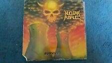 Nuclear Assault Survive Lp 1988 I.R.S. Record