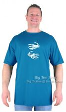 Big Mens Big Tee Shirt Dead Digits T-Shirt Sizes 2XL to 8XL Many Colours