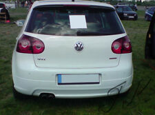 VW Golf MK5 (Edition 30 Look) Cut Out - Rear Lip Bumper Spoiler Diffuser Add On