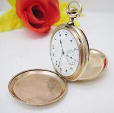 Vintage Elgin Company 17 Jewels Pocket Watch Gold Tone 24770738 1922 Movement