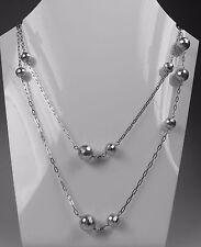 Modeschmuck perlen  Modeschmuck-halsketten aus Perlen und Weißgold für Damen | eBay