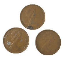 More details for 3x collection of 1971 2p pence coin