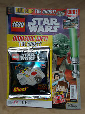 MINT UK EDITION 20 LEGO STAR WARS MAGAZINE #20 & LEGO SET TOY GIFT THE GHOST