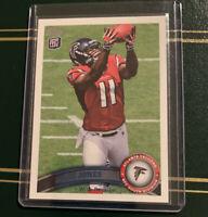 Julio Jones 2011 Topps Atlanta Falcons Rookie Card #350