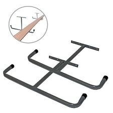 2 x Ceiling Mounted Overhead Storage Hooks 415mm Garage & Shed Ladder Brackets