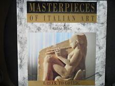 Masterpieces of Italian Art/Greek to Gothic ovp./Laserdisc