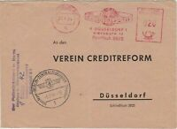 Germany 1964 Dusseldorf Cancel Credit Reform World Slogan Stamps Cover Ref 27907