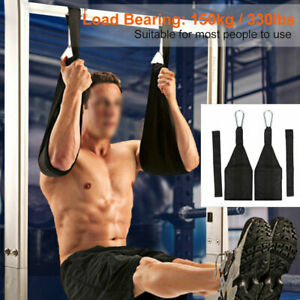 Sling AB Pull Up Straps Gewichtheben Tür Hanging Gym Bar Abdominal Fitness