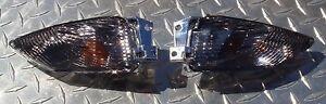 2011 + GSX-R 750 Smoked REAR Turn Signal Lenses GSXR L1 L2 L3 L4 L5 L6 L7 L8 L9