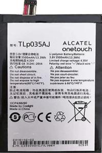 """Original Alcatel Akku 3500mAh TLP035AJ TLP035A1 7070X N1 Max OT-7070X Pop 4 6"""""""