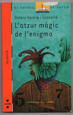 L´ATZUR MAGIC DE L´ENIGMA - DOLORS GARCIA I CORNELLA - EN CATALAN