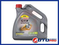 OLIO MOTORE CASTROL GTX ULTRACLEAN 10W40 A3/B4 SINTETICO ALTA PROTEZIONE MORCHIE