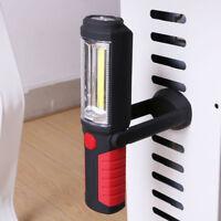 Magnetic 2in1 COB LED Arbeitsleuchte Handlampe Stablampe Werkstatt Taschenlampen