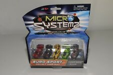 V 1:87 MICRO MACHINES MICRO SYSTEMZ EURO SPORT MINT CARD RARE