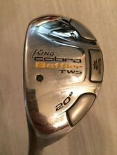 "LH Cobra 2009 Baffler TWS Hybrid 3/R 20* ALDILA DVS-HL 65-S 40.5"" LEFT VERY GOOD"
