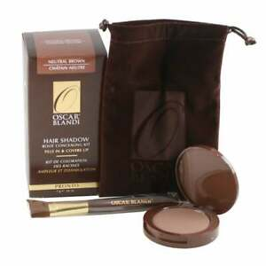 Oscar Blanti Hair Shadow Root Concealing Kit Neutral Brown 0.24 oz NEW IN BOX