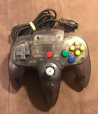 Official Nintendo 64 N64 Smoke Grey Controller! ~ Near Mint Condition! ~ OEM