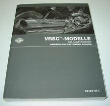 Werkstatthandbuch Harley Davidson VRSC Modelle elektrische Diagnose 2008!