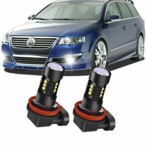 For VW Passat 3C CANBUS ERROR FREE H11 Fog Lights LED Xenon White