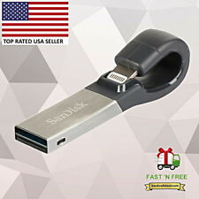 SanDisk 32GB iXpand USB 3.0 Lightning Flash Drive SDIX30N-032G For Apple iPhone