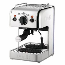 More details for commercial dualit 3 in 1 espressivo coffee machine polished finish restaurant